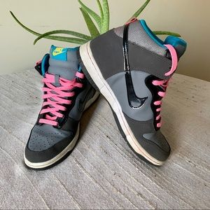 Nike High Dunk Sneakers 316604-009 6.5Y PreOwned